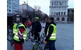 """Mișcare alături de inimoșii membri din """"masa critică"""" de iubitori ai ciclismului din orașul nostru"""