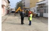 Lucrări de schimbare a conductelor de apă și canalizare pe strada Tudor Vladimirescu