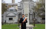 Omagiu la Monumentul Eroilor Regimentului 11 Artilerie