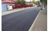 Strada Cărăbuș - primul strat de asfalt