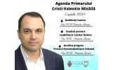 Agenda Primarului - 06 aprilie 2021