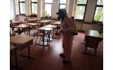 Continuă acțiunea de pregătire a unităților de învățământ pentru noul an școlar – faza dezinfecție și dezinsecție