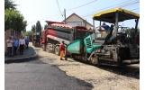 Asfaltarea străzii Panduri, aproape finalizată